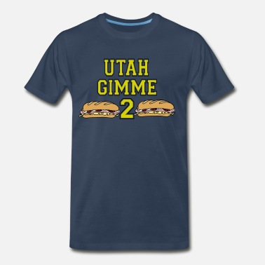 Point Break Point Break - Utah Gimme 2 - Men's Premium T-Shirt
