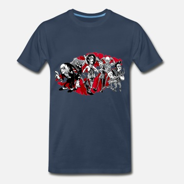 Picture Rocky horror toons ar - Men's Premium T-Shirt