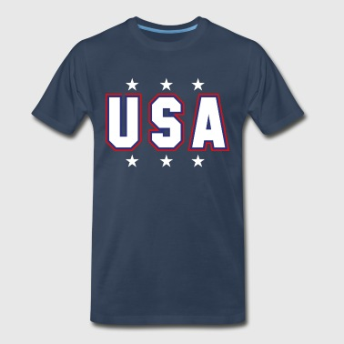 USA Patriotic - Men's Premium T-Shirt