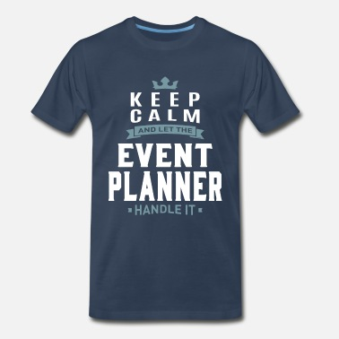 Planner Event Planner - Men's Premium T-Shirt