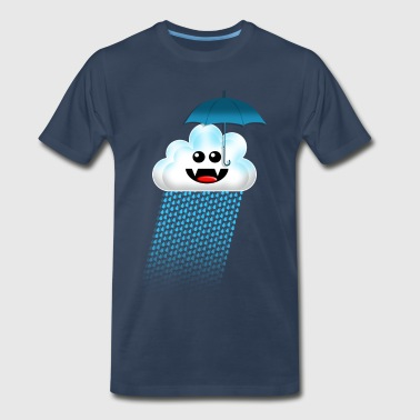 RAIN CLOUD - Men's Premium T-Shirt