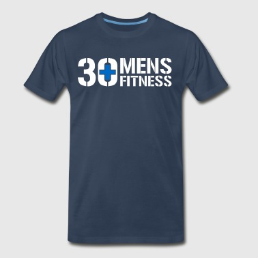 30 Plus Men's Fitness - Men's Premium T-Shirt