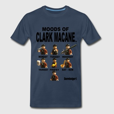 Moods Of Clark Macane - Men's Premium T-Shirt