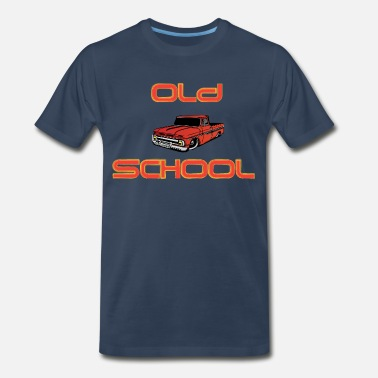 Old School Trucks old school red - Men's Premium T-Shirt