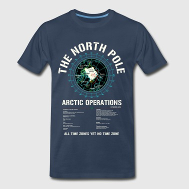 The North Pole - Arctic Operations Tee - Men's Premium T-Shirt