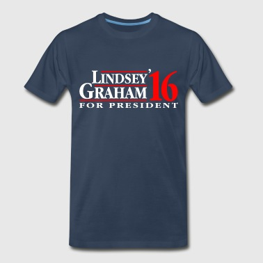 Lindsey Graham 2016 - Men's Premium T-Shirt