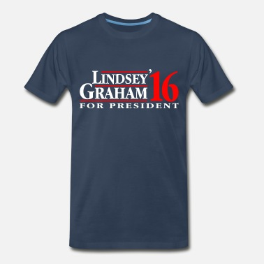 Graham Lindsey Graham 2016 - Men's Premium T-Shirt