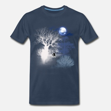 Howl At The Moon HOWLING MOON - Men's Premium T-Shirt