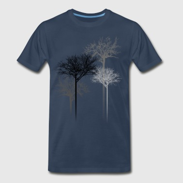 TREES 5 - Men's Premium T-Shirt