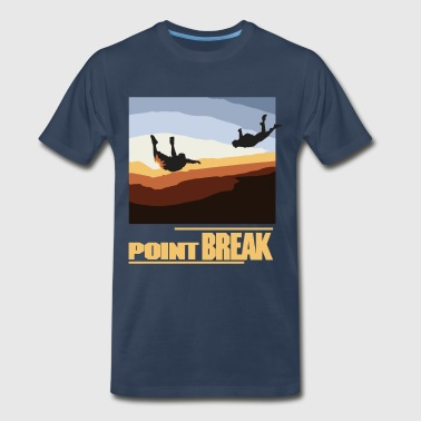 Point Break - female - Men's Premium T-Shirt