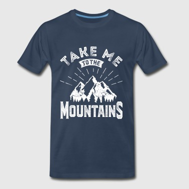 mountain 3 - Men's Premium T-Shirt