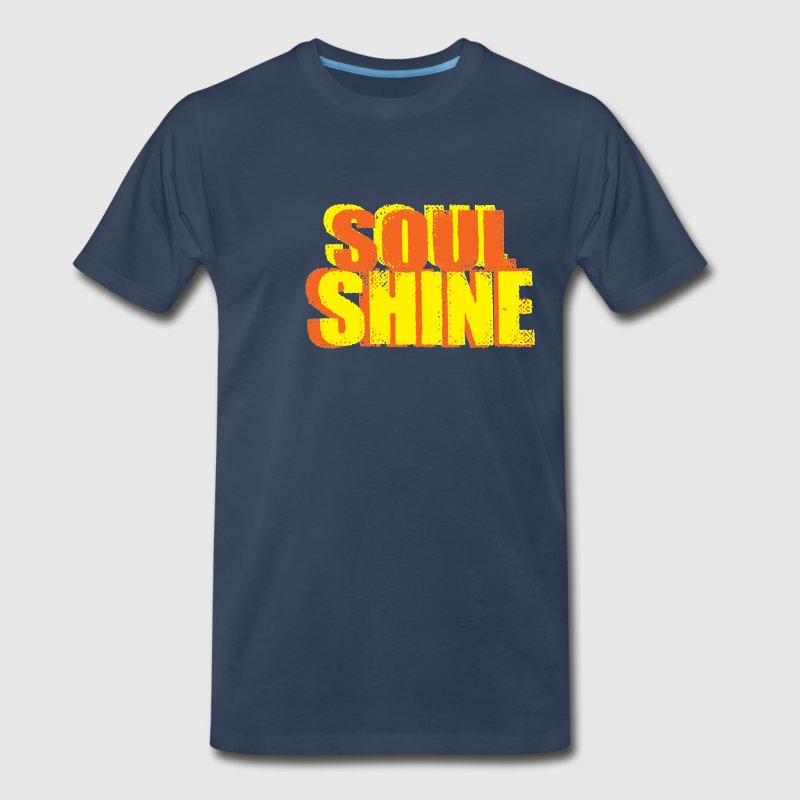 Let your Soul Shine with this fun Hip Shirt - Men's Premium T-Shirt