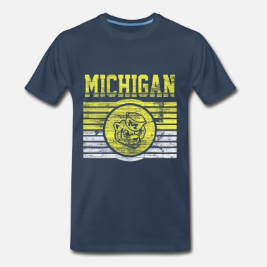 Darren Criss Michigan Wolverines - Men's Premium T-Shirt