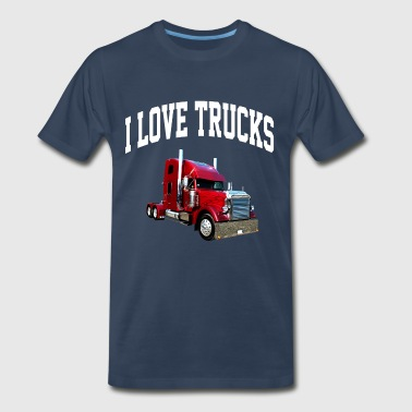 i_love_trucks - Men's Premium T-Shirt