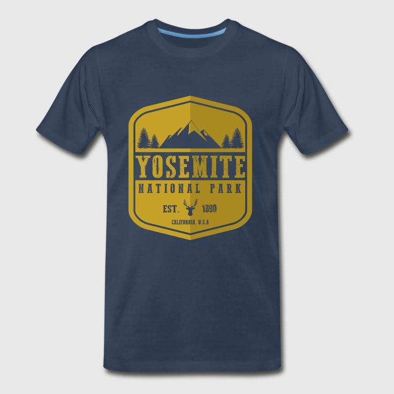 Yosemite National Park - Men's Premium T-Shirt
