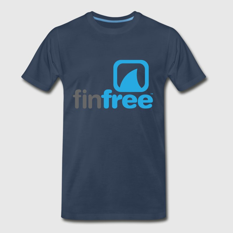 FinFree™_LOGO_OFFICIAL_hires.png - Men's Premium T-Shirt