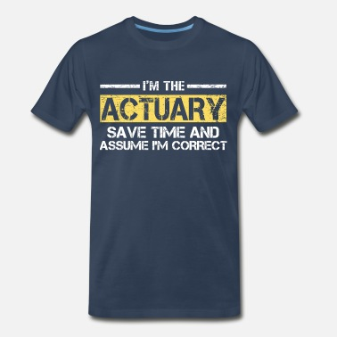 Actuary Funny Actuary - Men's Premium T-Shirt