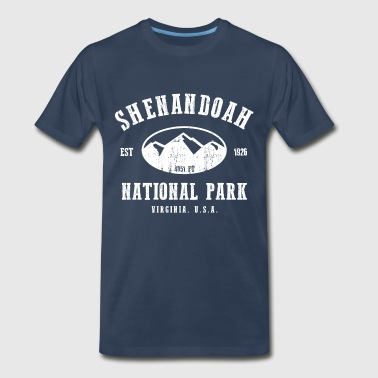 Shenandoah National Park - Men's Premium T-Shirt