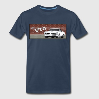 GTO in the City - Men's Premium T-Shirt