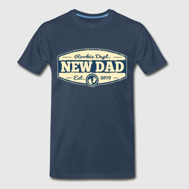 New Dad 2019 Rookie Dept - Men's Premium T-Shirt