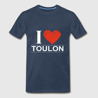 I Love Toulon - Men's Premium T-Shirt