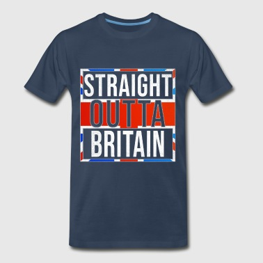 Straight Outta Great Britain - Men's Premium T-Shirt