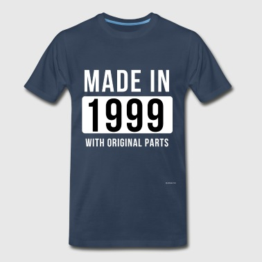 For 21 Years Old Birthday Made In 1999 - Men's Premium T-Shirt