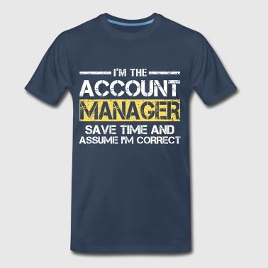 Account Manager - Men's Premium T-Shirt