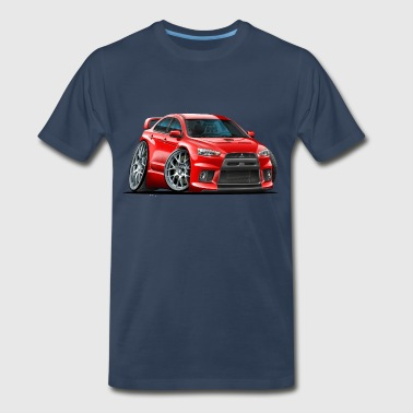 Mitsubishi Evo Red Car - Men's Premium T-Shirt
