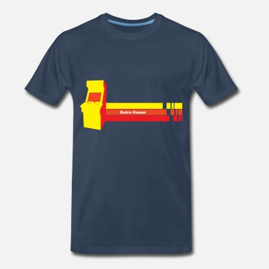 Retro Gamer retro gamer - Men's Premium T-Shirt
