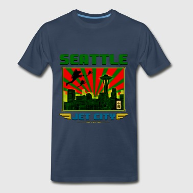 SEATTLE - JET CITY - Men's Premium T-Shirt