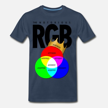 Notorious The Notorious RGB - Men's Premium T-Shirt