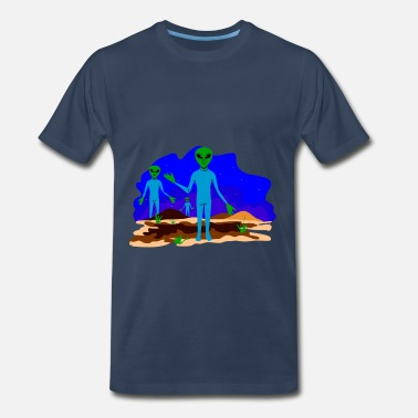 Close Encounters Of The Third Kind close encounter - Men's Premium T-Shirt