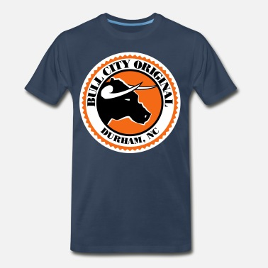 Durham Nc Bull City Original Seal- 3XL & 4XL - Men's Premium T-Shirt