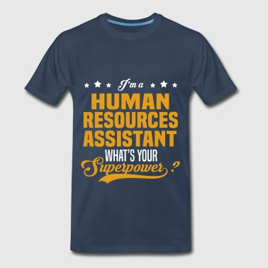 Human Resources Assistant - Men's Premium T-Shirt