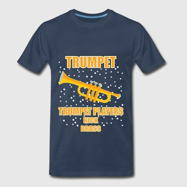 Player Kick Brass Trumpet player - trumpet players kick brass - Men's Premium T-Shirt