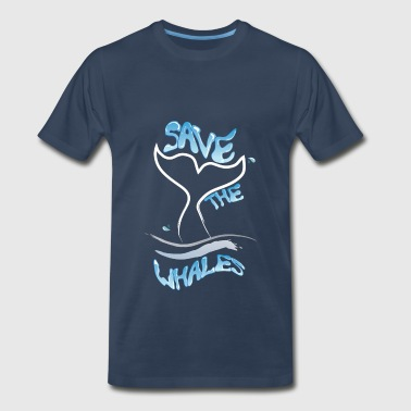 Greenpeace Whales - Save the whales - Men's Premium T-Shirt