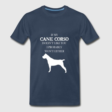 Cane Cane corso - Sorry this girl is already taken by a - Men's Premium T-Shirt