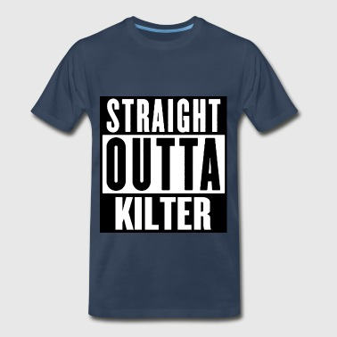 STRAIGHT OUTTA KILTER - Men's Premium T-Shirt