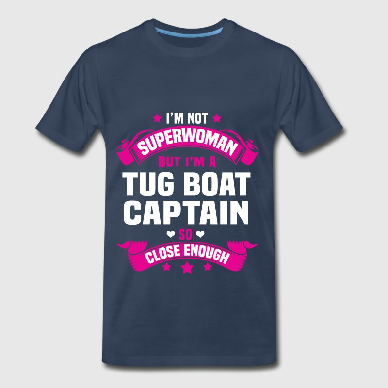 Tug Boat Captain - Men's Premium T-Shirt