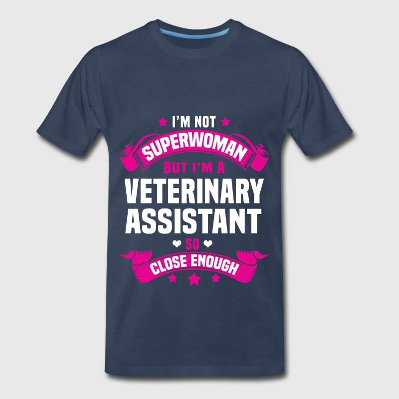 Veterinary Assistant - Men's Premium T-Shirt