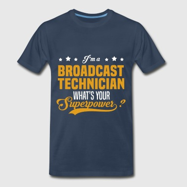 Broadcast Technician Broadcast Technician - Men's Premium T-Shirt