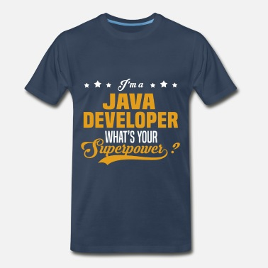 Java Developer Girl Java Developer - Men's Premium T-Shirt
