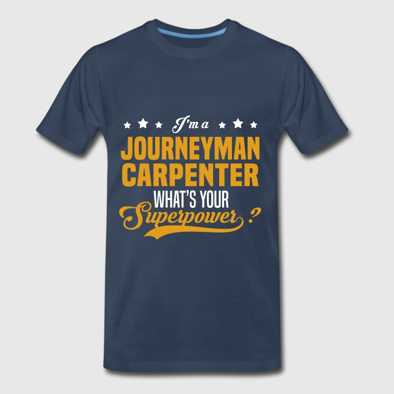 Journeyman Carpenter - Men's Premium T-Shirt