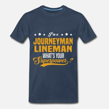 Journeyman Lineman Journeyman Lineman - Men's Premium T-Shirt