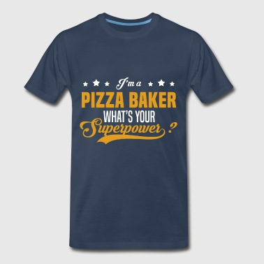 Pizza Baker Funny Pizza Baker - Men's Premium T-Shirt