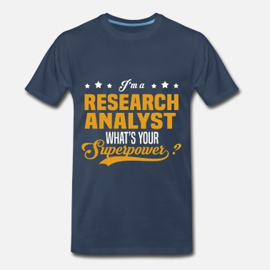 Research Analyst Funny Research Analyst - Men's Premium T-Shirt
