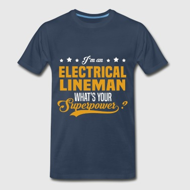 Electrical Lineman Funny Electrical Lineman - Men's Premium T-Shirt