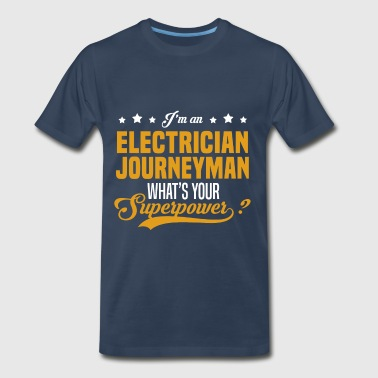 Electrician Journeyman - Men's Premium T-Shirt