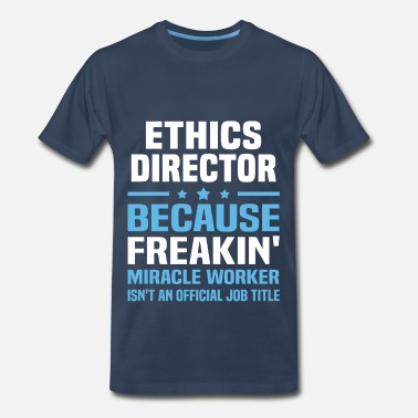 Ethics Ethics Director - Men's Premium T-Shirt